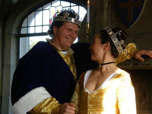 King Hugh and Queen Therasa