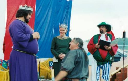 King Alaric and Queen Nerissa