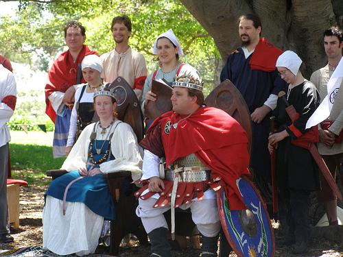King Alfar and Queen Gudrun